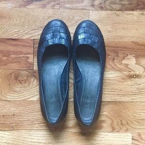 Cole Haan Silver Flats with Nike Air